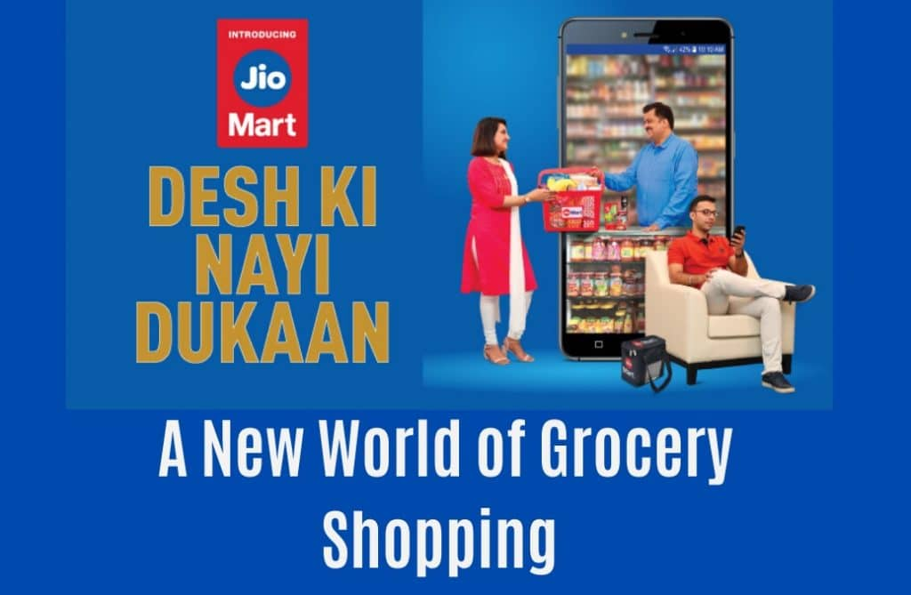 Jio Mart : The Online  Shopping Store
