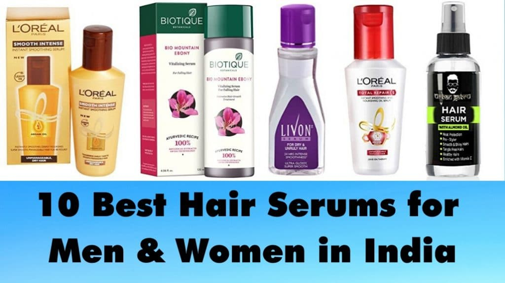 Best Hair Serums for Men & Women in India