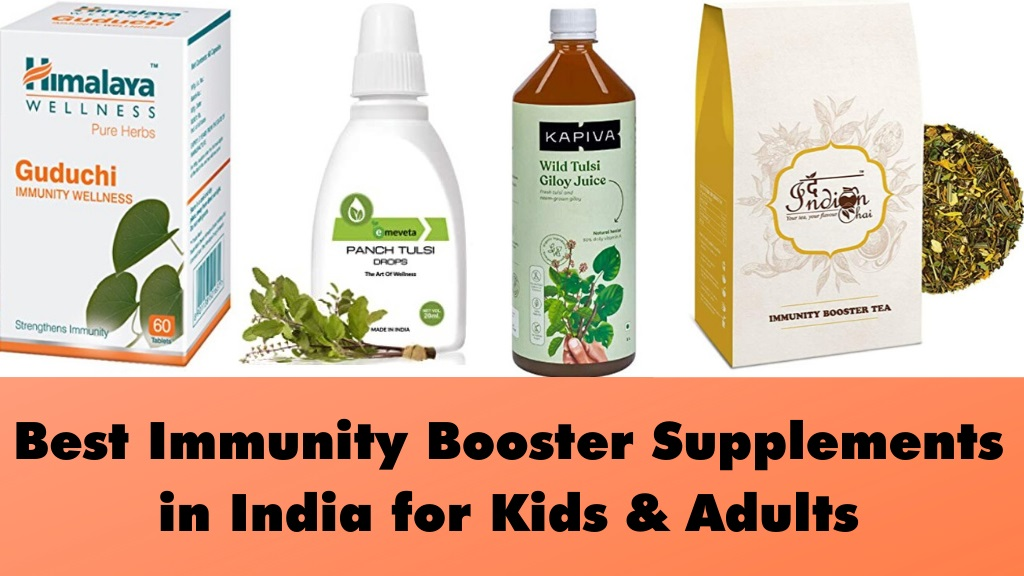 Best Immunity Booster Supplements in India for Kids and Adults