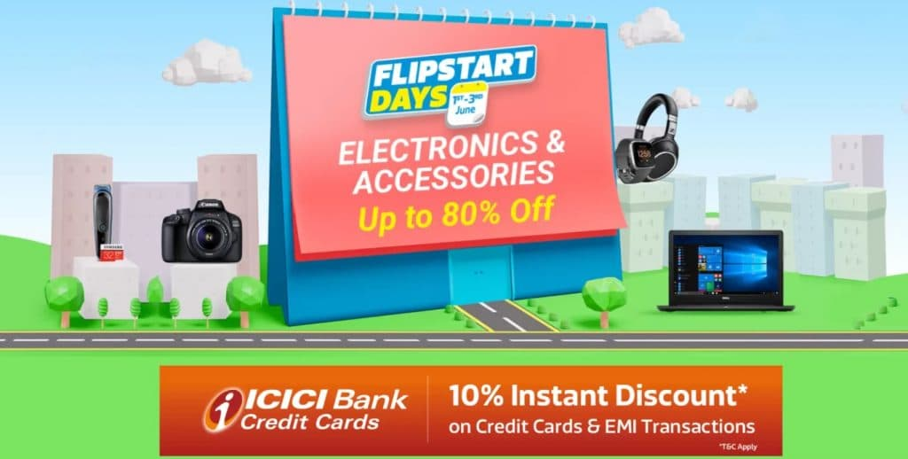 Flipstart Days Sale June 2020 Electronics Offers