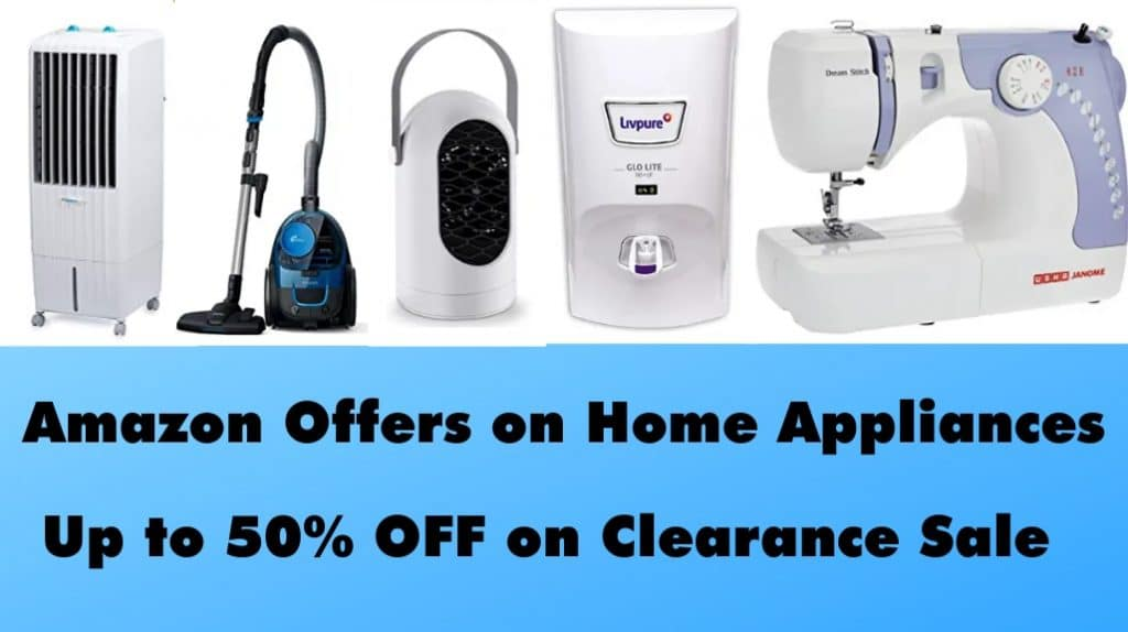 Amazon Offers on Home Appliances