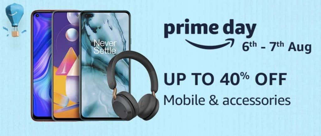Amazon Prime Day 2020 Offers on Smartphones