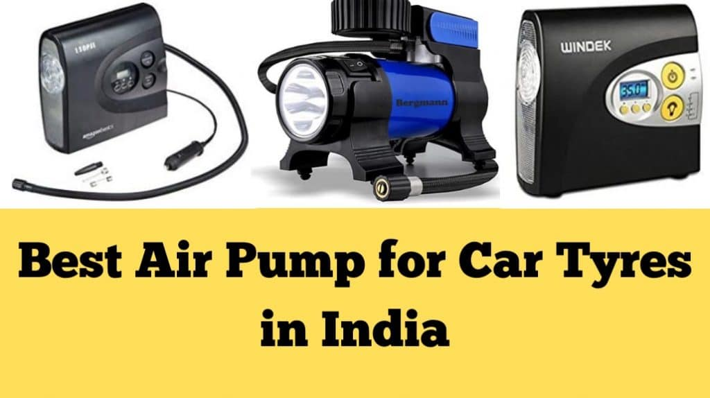 Best Air Pump for Car Tyres
