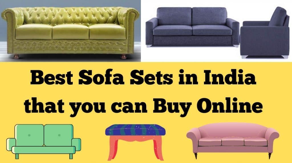 Best Sofa Sets in India that You Can Buy Online