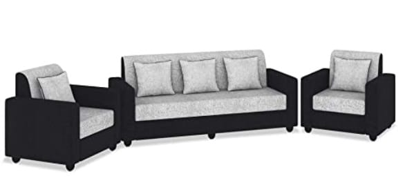 Bharat Lifestyle Tulip Five Seater Sofa Set