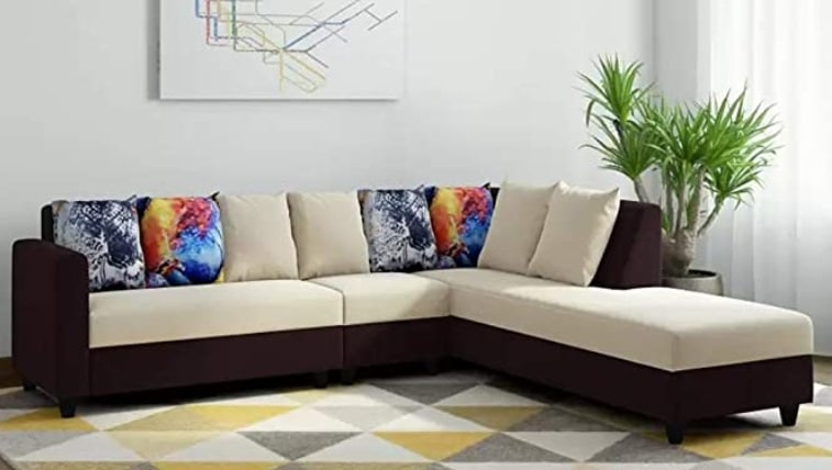 CasaStyle - Casper 6 Seater RHS L Shape Sofa Set
