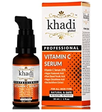 Khadi Global Vitamin C Serum with Vitamin E