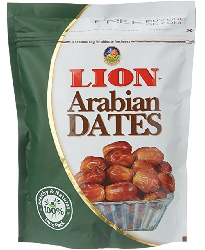 Lion Arabian Seeded Dates