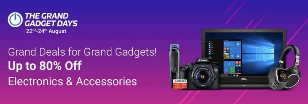The Flipkart Grand Gadget Days Sale