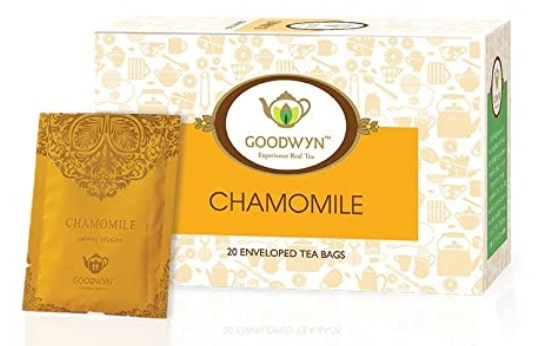Goodwyn Chamomile Herbal Stress Relief Tea