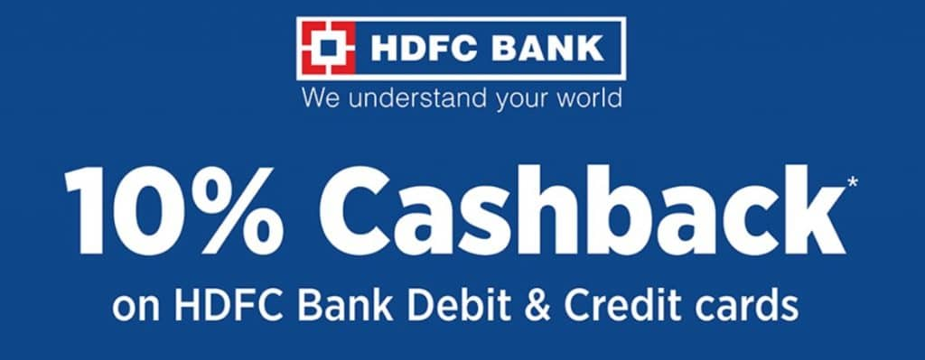 JioMart HDFC Bank Offer