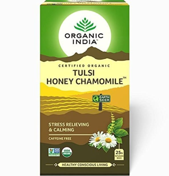 Organic India Tulsi Honey Chamomile Tea