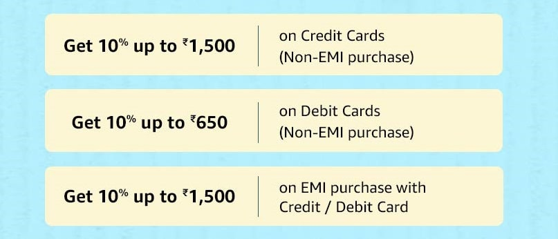 Amazon Prime Day 2020 HDFC Offer Terms & Conditons