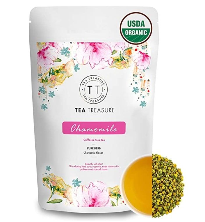 TeaTreasure Organic Pure Chamomile Tea