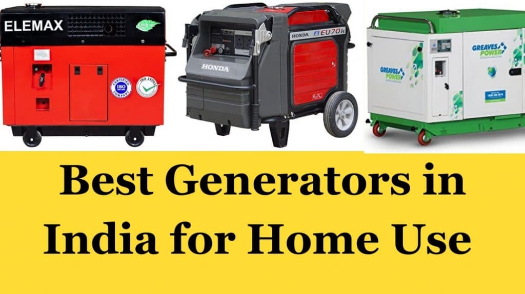 Best Generators in India for Home Use