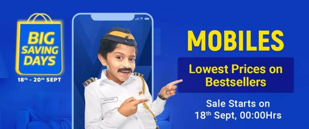 Flipkart Big Saving Days Discount Offer on mobiles