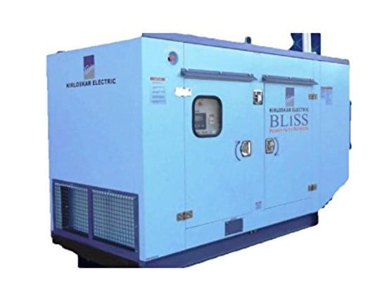 Kirloskar Electric Make Silent Diesel Generator