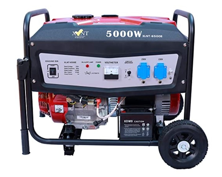 XLNT-6500E Petrol Generator with electric start