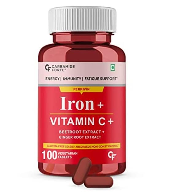 Carbamide Forte Chelated Iron with Vitamin C Tablets