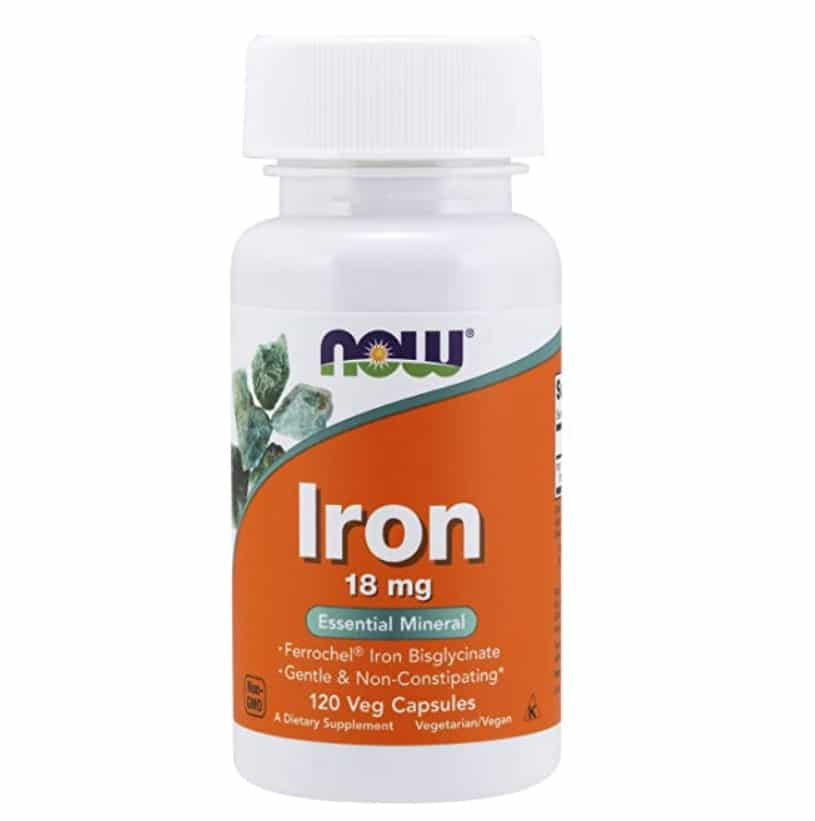Now Foods Iron Tablets