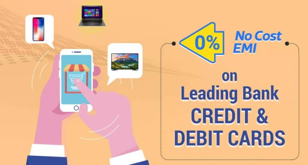 Flipkart Citibank Cards No Cost EMI