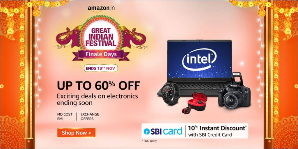 Amazon Diwali Sale Offers and Deals