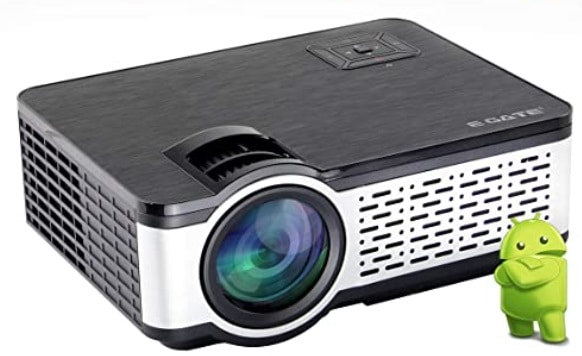 """Egate i9 HD Android 720p with 150 """" Large Display LED Projector"""