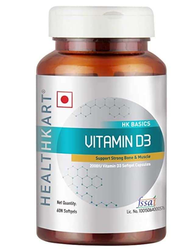 HealthKart Vitamin D3 Supplement