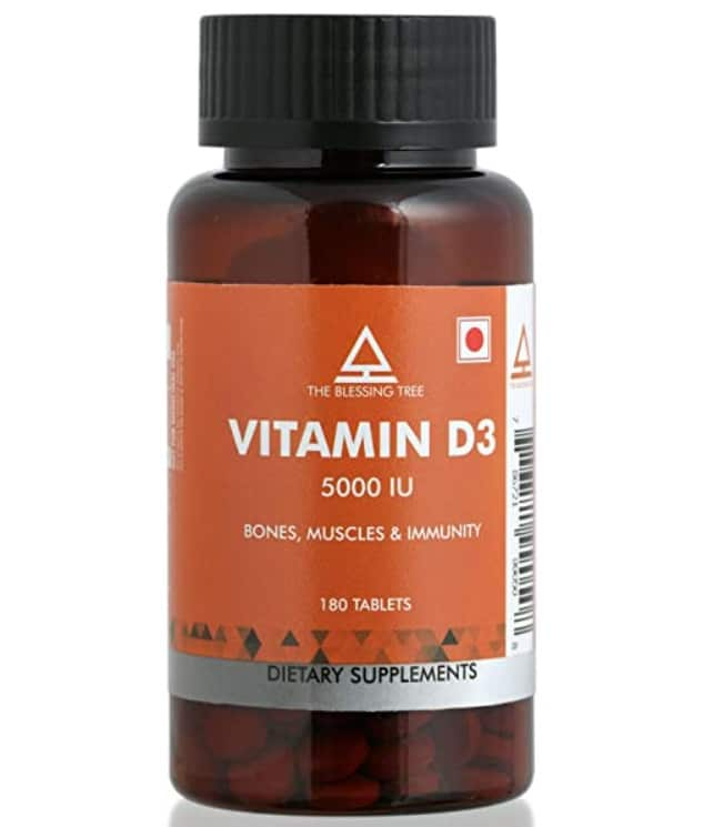 The Blessing Tree Vitamin D3 Supplement