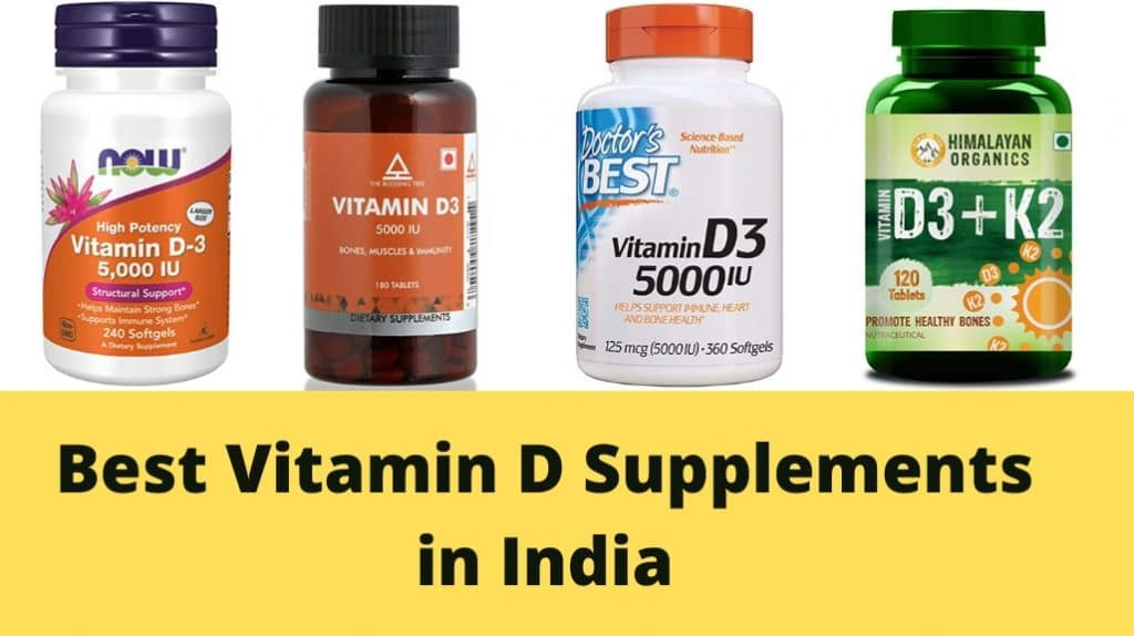 Best Vitamin D Supplements in India