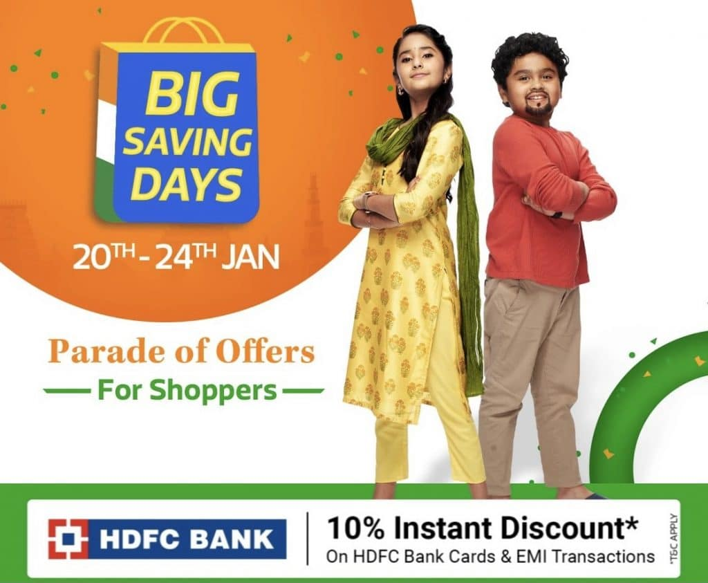 Flipkart republic day sale 2021