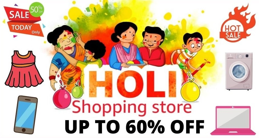 Amazon Holi Sale Offers and Deals 2021