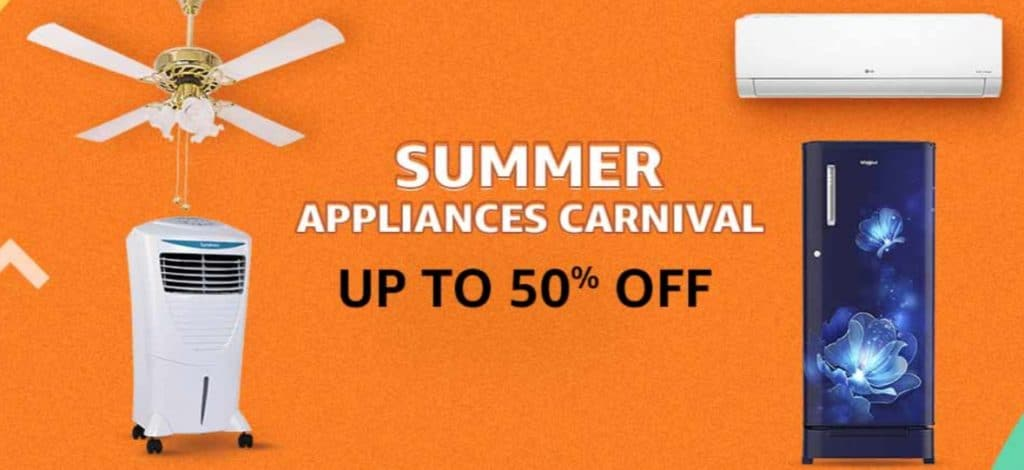 Amazon Summer Appliances Sale 2021