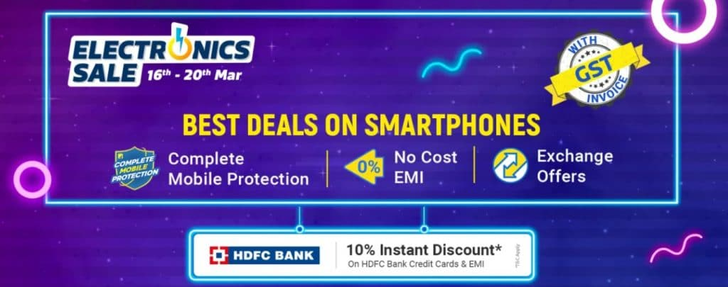 Flipkart Electronics Sale March 2021 Mobile Offers