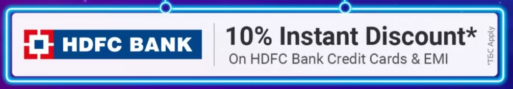 Flipkart HDFC Credit Card Offer 2021