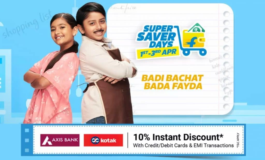 Flipkart Super Saver Days Sale April 2021