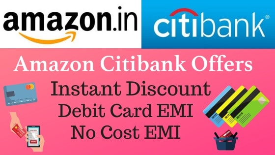 Details of Amazon Citibank Offer