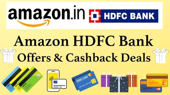 Amazon HDFC Bank Offers