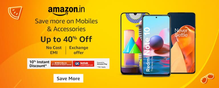 Amazon India Sale Offers on Mobiles