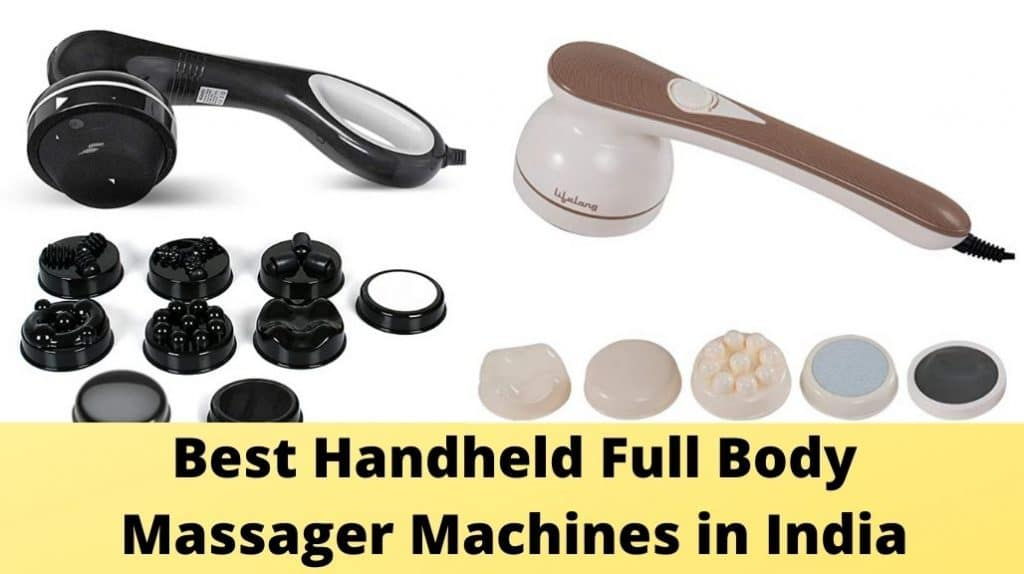 Best Handheld Full Body Massager Machines in India