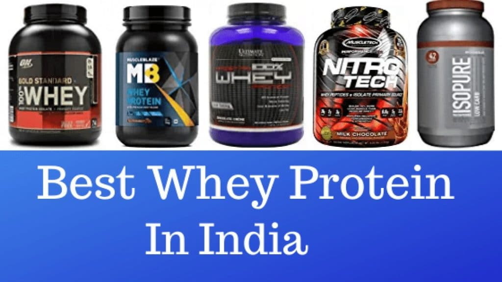Best Whey Protein in India for Muscle Gain & Fat Loss