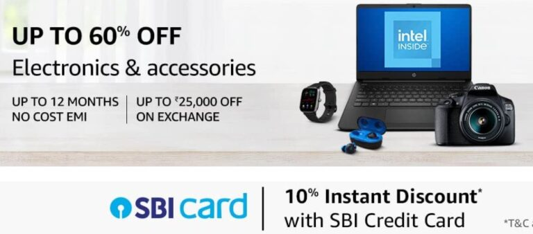 Amazon SBI Offer May 2021