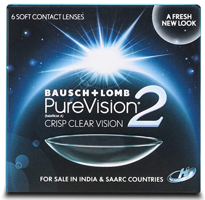 Bausch & Lomb Purevision 2 Monthly Disposable Contact Lens