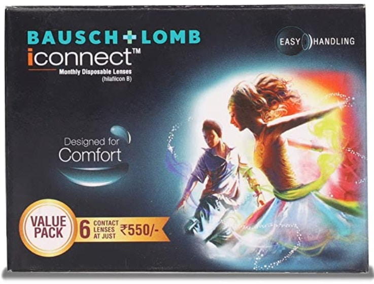 Bausch & Lomb iconnect Value Pack Monthly Disposable Contact Len