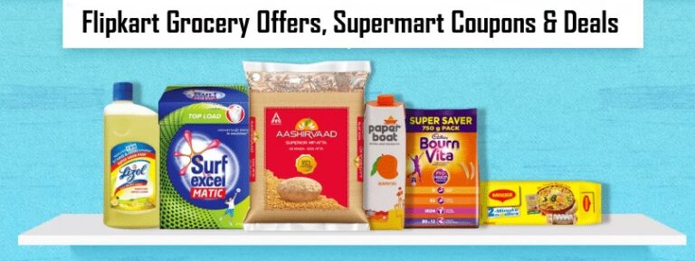 Flipkart Grocery offers and supermart coupons
