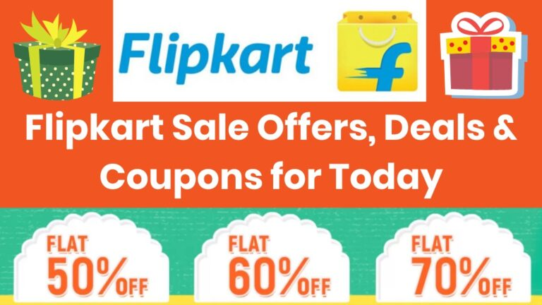 Flipkart Offers, Deals of the Day and Coupons