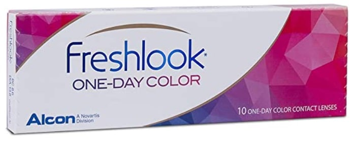 Freshlook One-Day Color Pure Hazel Powerless Contact Lens