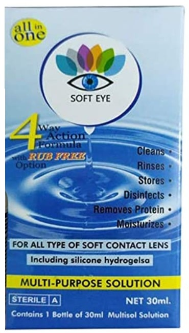 Soft Eye Monthly Color Contact Lenses