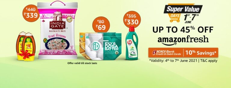 The Amazon Super Value Day Sale 2021 Offers