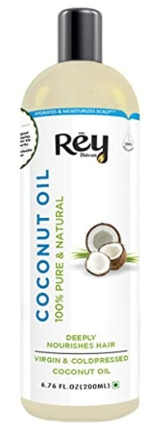 Rey Naturals® Cold Pressed Coconut Oil For Hair and Skin